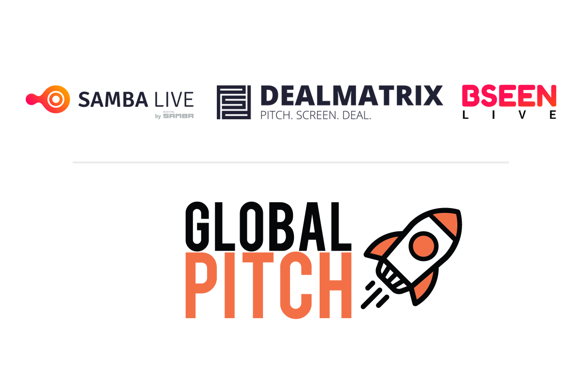 Digital Samba powers Global Pitch in partnership with DealMatrix.